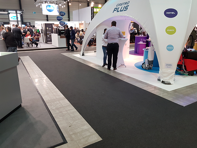 Exhibition carpet & Expo vinyl