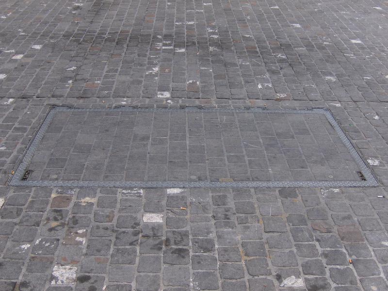 Trappes de sol avec vernis à gaz D400