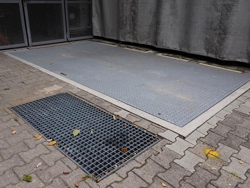 Porte a pavimento idraulico B125